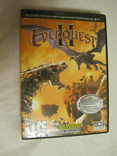 Everquest II Collectors Edition with Coin 3~PC CD-ROM~LBDVJ