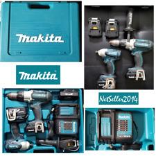 🧰🔥 Makita 18V Cordless Hammer Drill Driver LXT BHP451 Impact BTD141 Kit + Case