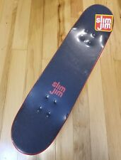 SLIM JIM Red Black Graffiti Skateboard Pre 2008 Logo Sealed