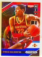Tyrese Haliburton RC 2020-21 RWB Prizm Draft Picks Rookie Card #10 Kings Iowa St