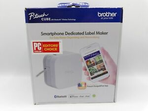 Brother P-Touch Cube Smartphone Label Maker, Bluetooth Wireless Technology