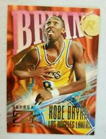 1996 Kobe Bryant Ultra rare Skybox Z Rookie LA Lakers RC Black Mamba