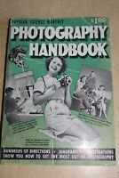 255pages Popular Science Monthly Photography Handbook 1951