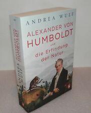 Andrea Wulf Alexander von Humboldt und die Erfindung der Natur neuwertig ungeles