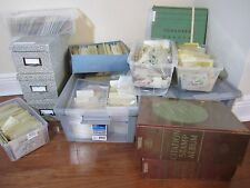 Collection mixture from dealer cards,albums,many sets ,stock books ,all differ