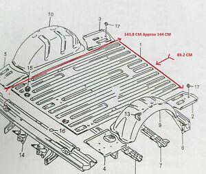 Suzuki Samurai SJ413 SJ410  Sierra Maruti Gypsy Jimny Rear Floor Panel