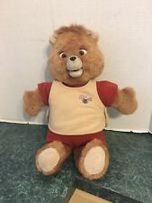 Vintage Teddy Ruxpin Bear 1985 The Airship