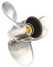 Solas 4121-093-09A Saturn Propeller: Suzuki - Stainless Steel