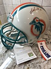 Dan Marino UDA signed Full-size Riddell NFL Miami Dolphins Helmet