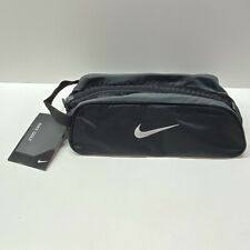 Nike Golf Small Bag, Black Nylon Toiletry Travel Bag - NEW