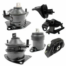 For 2004-2005 Acura TSX Base 2.4L FWD Engine Motor & Trans Mount Set 6PCS