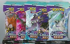 Pokemon Sword & Shield Chilling reinado 144 Conde Manga BOOSTER PACK CAJA PRECINTADA