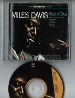 MILES DAVIS Kind Of Blue JAPAN 24k GOLD SBM CD Picture CD SRCS6681 w/PS Free S&H