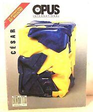 """revue opus international n°120 """" CESAR """" 1990"""