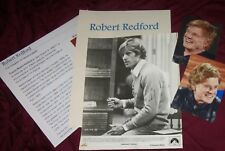 ROBERT REDFORD Autographed Photo & photos  REAL COLLECTIBLE