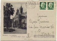 P6759   Palermo, lettera illustrata, viaggiata per Roma 1942