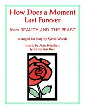 How Does a Moment Last Forever Beauty and the Beast Arranged for Harp 000240989