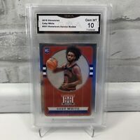 2019-20 Chronicles Hometown Heroes Coby White Rookie RC #551 GMA 10 GEM MINT 🔥