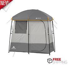 Ozark Trail 2 Room Shower Tent Bathroom Changing Shelter Camping Bathroom Hiking
