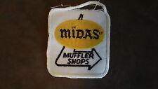 Midas Muffler Shops Embroidered Patch Applique Badge Brand Auto Repair Brakes