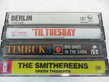 4 Alternative cassettes (Berlin, 'Til Tuesday, Timbuk 3, The Smithereens)