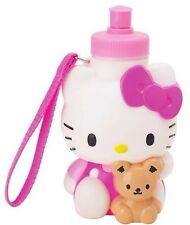 SANRIO Hello Kitty Beverage Bottle: Pink with Bear  ( 100% Brand New )