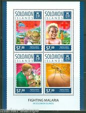 SOLOMON ISLANDS 2014 FIGHTING MALARIA SHEET MINT NH