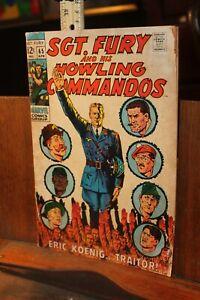 ROUGH 1968 Marvel Sgt. Fury Howling Commandos No. 65
