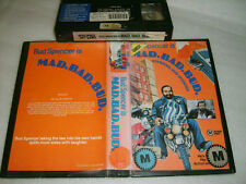 VHS *MAD.BAD.BUD. (AKA The Knock Out Cop) 1973* RARE Oz Box Office Int. Issue!