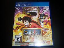 Replacement Case (NO GAME) ONE PIECE PIRATE WARRIORS 3 PlayStation 4 PS4 Box