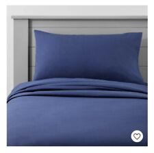 "Solid Cotton Sheet Set - Pillowfortâ""¢ Full Navy"