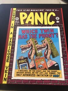 The Complete PANIC EC Comic Series Volume 1-2 Hardcover 1-12 Russ Cochran B&W