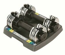 LOWEST PRICE! ProForm 25lbs Adjustable Dumbbell Set - 2x12.5 dumbbells w/tray