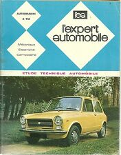 REVUE TECHNIQUE   - EXPERT AUTOMOBILE - AUTOBIANCHI A 112