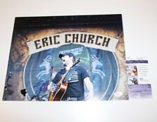 169fe471d7b COUNTRY STAR ERIC CHURCH SIGNED 11x14 PHOTO JSA COA MR MISUNDERSTOOD  CAROLINA