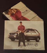 2002 - TIGER WOODS - BUICK - GOLF BALLS (12) IN PICTURE BOX - NIKE TI-VELOCITY