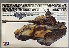 PANZERKAMPFWAGEN VI TIGER II SDKFZ 182 AUSF B KING TIGER 1/16 TAMIYA 56004 RARE