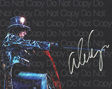 Alice Cooper signed Metal Rock 18 Poison 8X10 photo picture poster autograph RP2