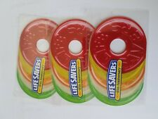 Lifesavers Candy (3)  Limited Edition Roll Shaped Phone Cards