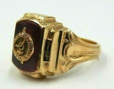 1974 green topaz vintage statement 9ct gold ring size ukO12 USA7.25