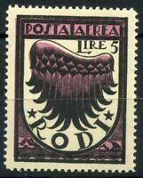 Egeo 1944 Sass. 59 Nuovo ** 100% Pro sinistrati di guerra