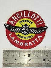 Ancillotti Lambretta Patch - Embroidered - Iron or Sew On