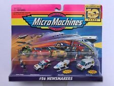 "Micro Machines vehicle pack #26 ""Newsmakers"" - MINT IN SEALED BOX !!!"