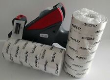 Meto 5S.26, Labe Price Gun,5 Digit, Large Print, Box White Labels + Ink Roller