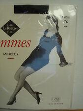Collant Le Bourget femmes minceur taille 4 Noir 17 deniers