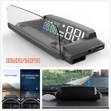 Car HUD Digital Head Up Display GPS Speedometer Speed Warning System KMH/MPH