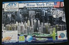 4D Cityscape New York City Time Puzzle 700 Pieces  Glow in Dark Streets Ages 8+