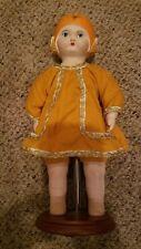 Louis Amberg La&S Sunny Orange Blossom Maid 1924 Reproduction Bisque Doll