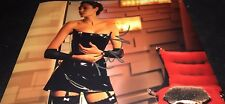 Angelina Jolie Sexy In Black Latex Hand Signed 11x14 Autographed Photo COA Proof