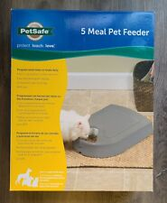PetSafe 5 Meal Pet Feeder Automatic Food Dispenser Programmable, #s6
